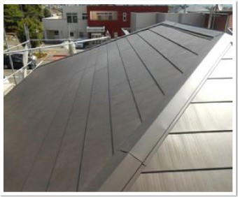 ガルバリウムの屋根