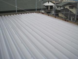 折半屋根 完了