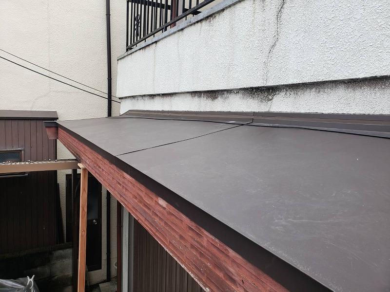 堺市屋根修繕 ガルバニウムでの葺き替えアフター