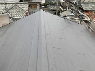 屋根カバー工事完工写真