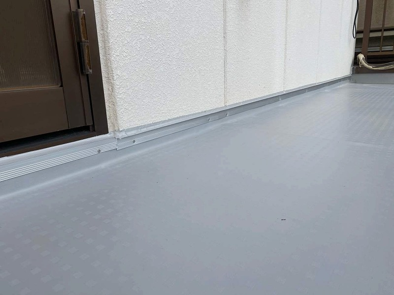 雨漏り修理塩ビシート工事