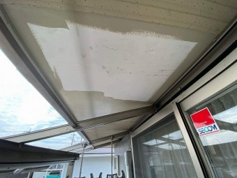 軒天補修防水塗装