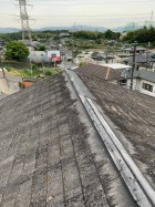 屋根棟飛散、剥がれ