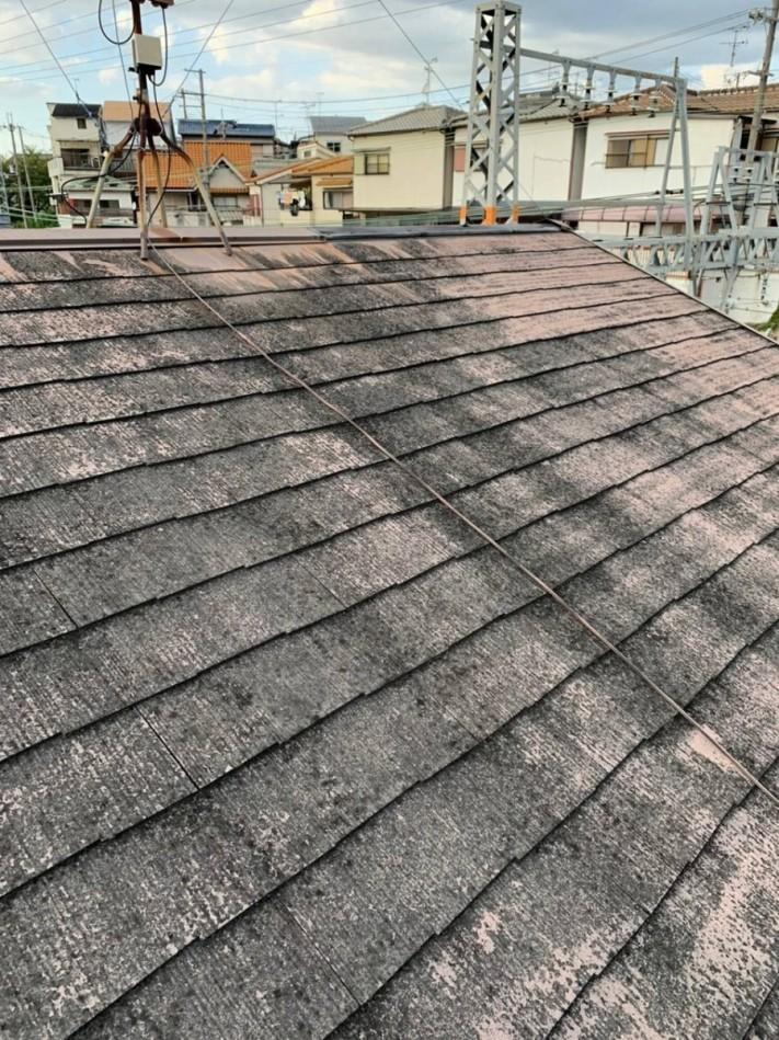 屋根カラーベスト点検
