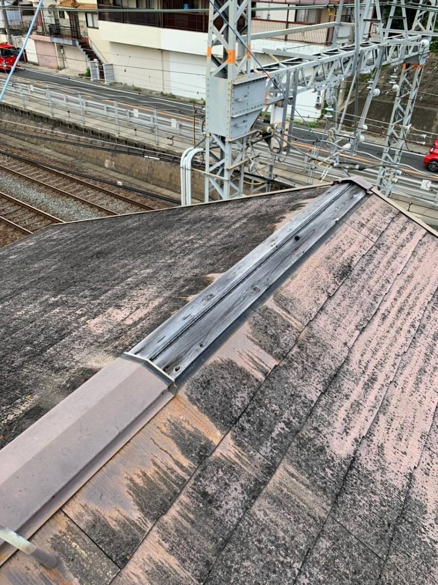 屋根カラーベスト点検2