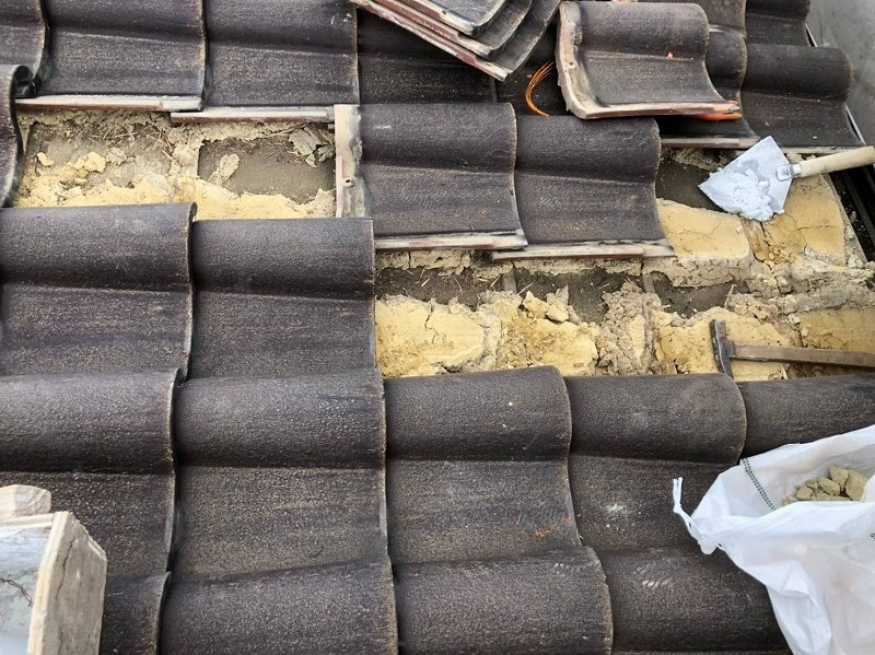 屋根台土シルガード