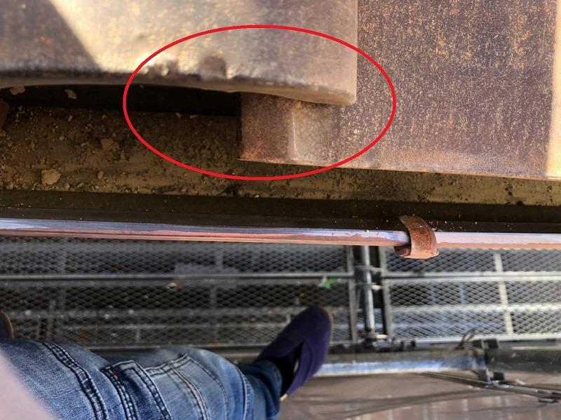 瓦屋根のズレ補修