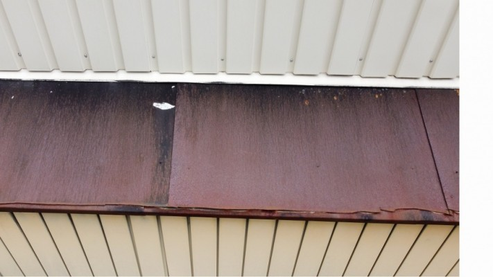 金属屋根劣化