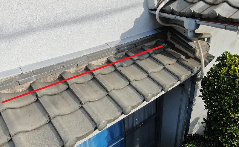 漆喰の劣化雨漏り要因