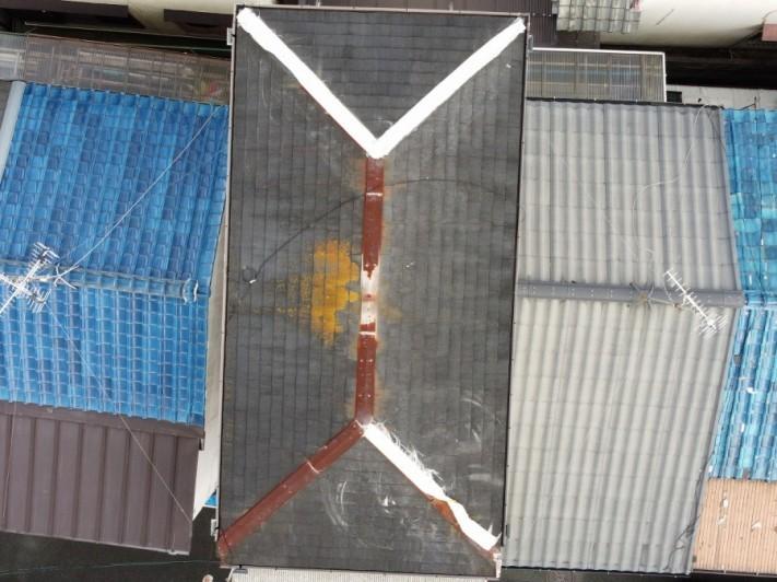 築35年スレート屋根