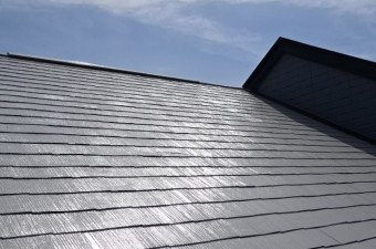 ヘーベルハウス 屋根塗装