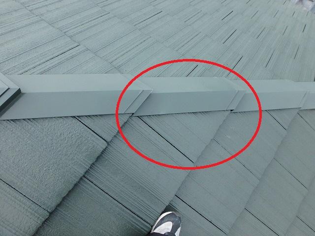 屋根メンテナンス後の修理