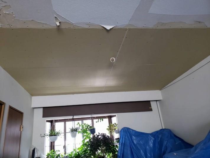 抜け落ちた天井