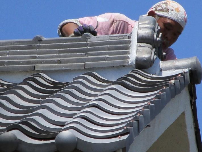 屋根の補修工事3