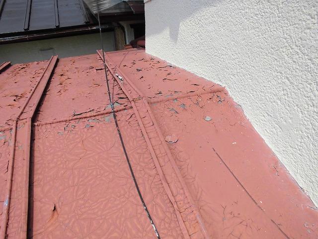 瓦棒 塗装前
