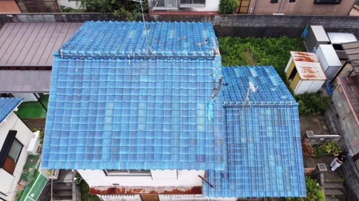 雨漏り点検屋根形状