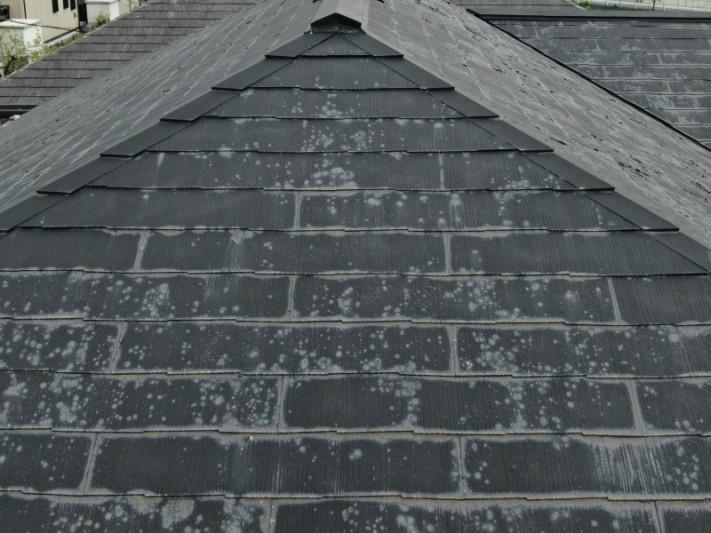 屋根塗装のめくれ