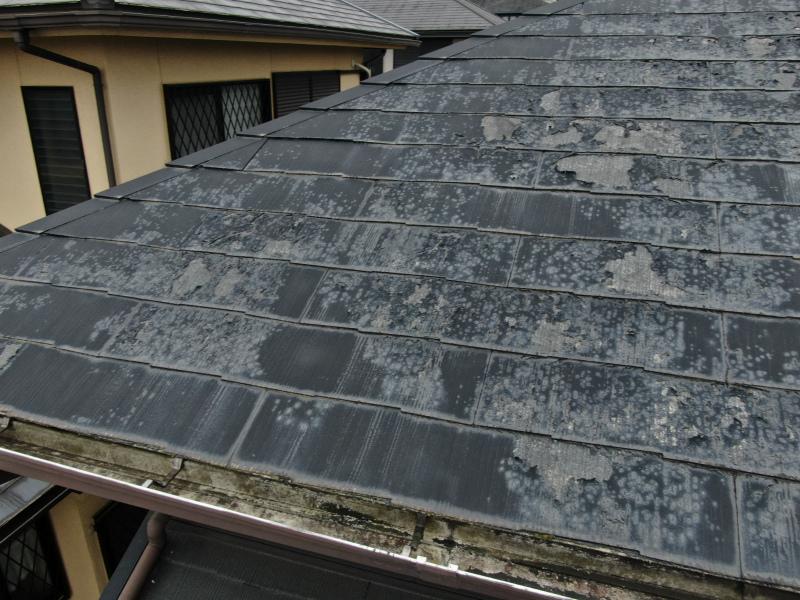 下屋根の不具合