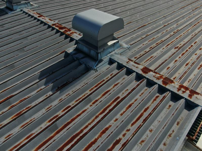 折半屋根のメンテナンス