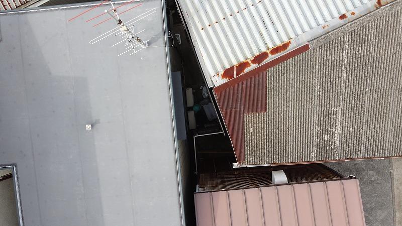 駐車場の屋根・修理