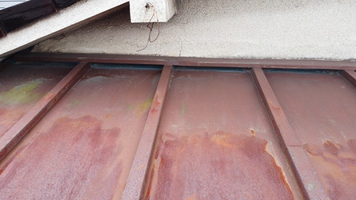 板金雨漏り修理
