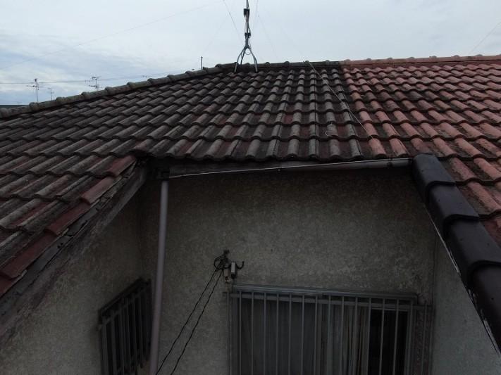 屋根雨樋破損