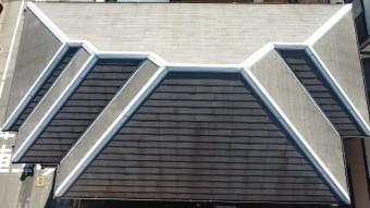 スレート屋根・ひび割れ