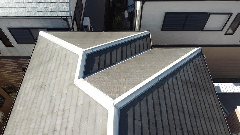スレート屋根・棟板金