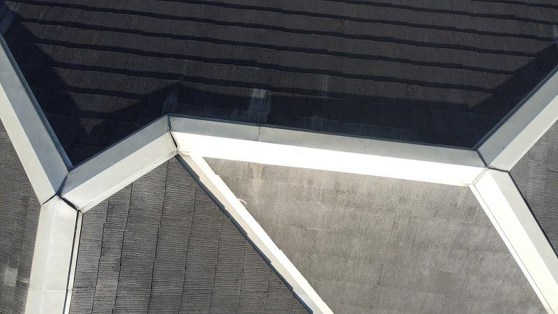 泉佐野屋根壁塗装3