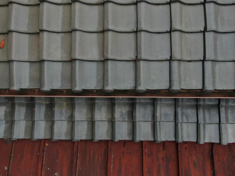 台風後の屋根の点検