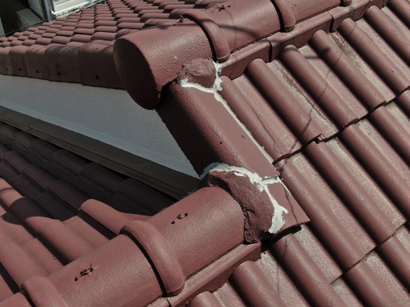 モニエル瓦の雨漏り補修