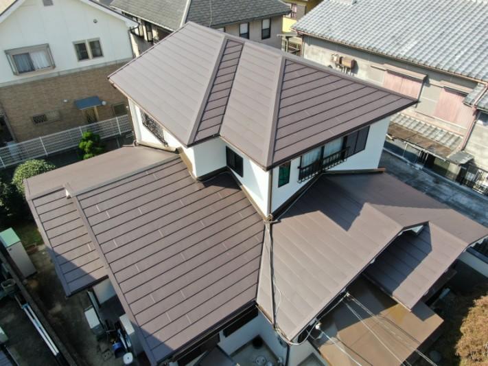 ガルバリウム金属屋根