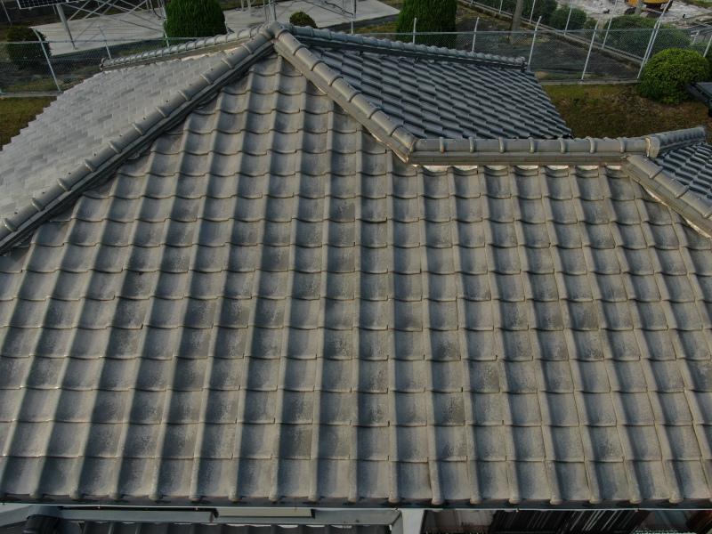 河内長野市にて屋根の葺き替えと葺き直しのお見積もりの現場調査