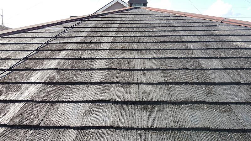 屋根の劣化症状・色褪せ