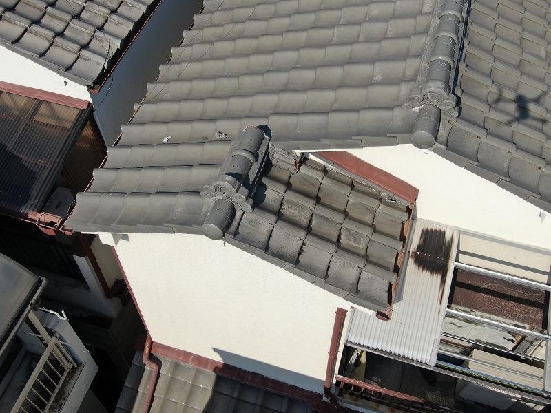 屋根破損補修工事