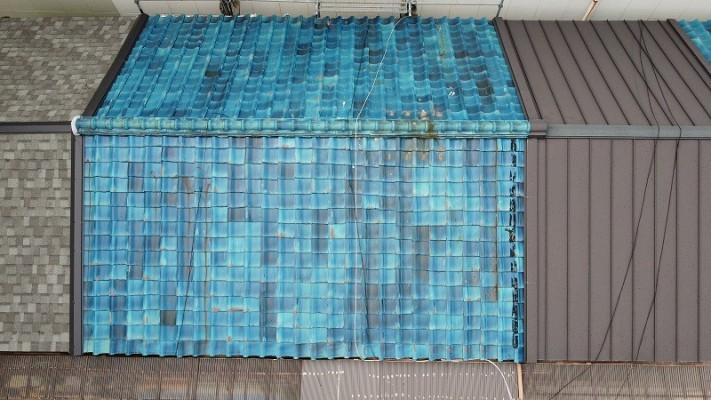 屋根補修が必要な瓦屋根