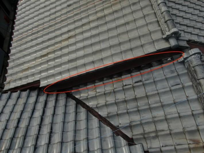 壁際からの雨漏り補修
