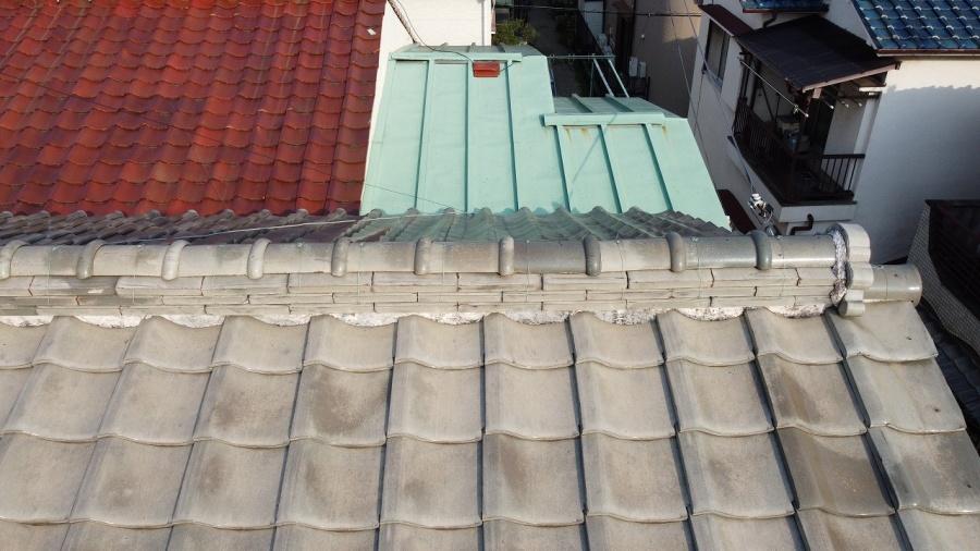 屋根リフォーム前