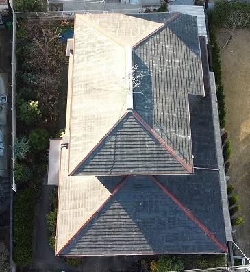 屋根修繕 葺き替え工事をしたお宅