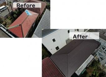屋根修理・カバー工法