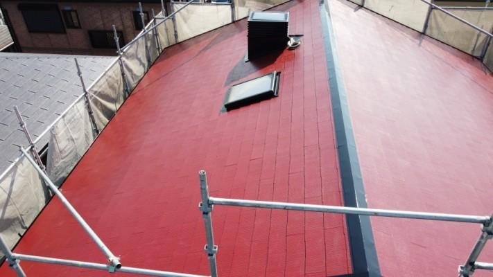 和泉屋根塗装4