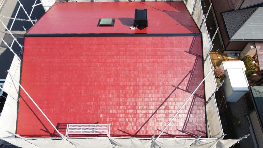 和泉屋根塗装5