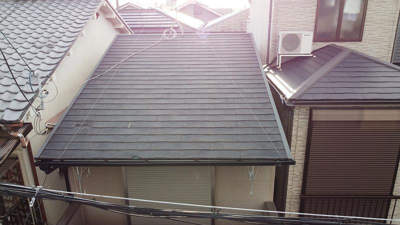 屋根リフォーム調査