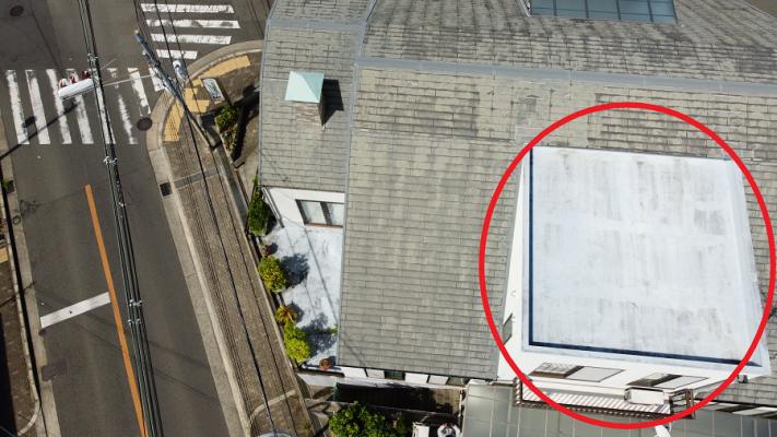 陸屋根の劣化
