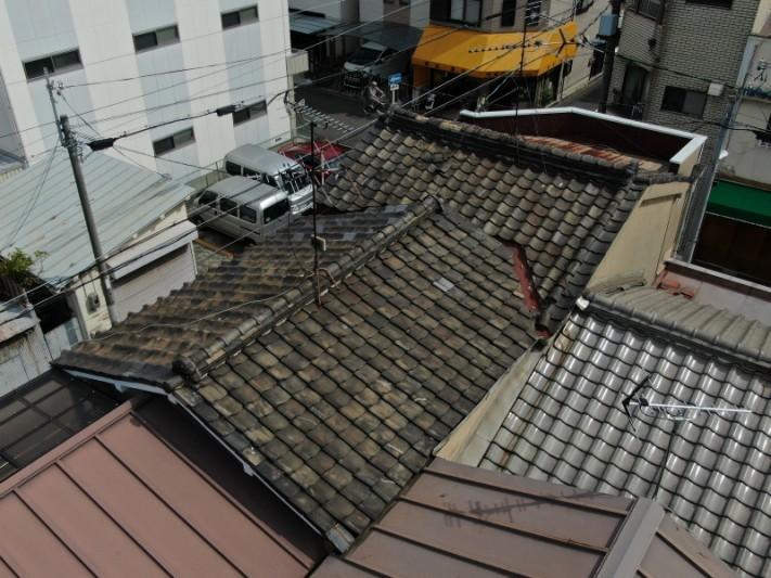 築50年以上の屋根