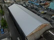 工場(倉庫)屋根カバー工法