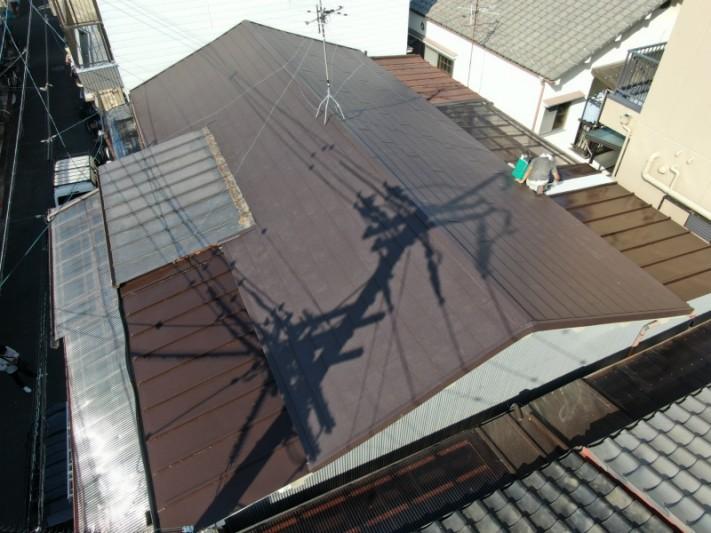 金属屋根のスーパーガルテクト