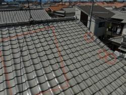 屋根の補修