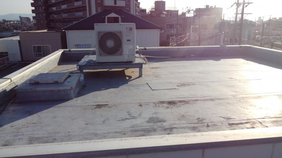 屋上のメンテナンス