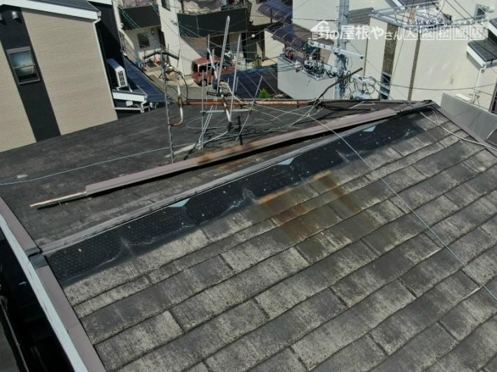 スレート屋根の台風の被害